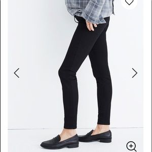 Madewell Maternity Black Frost Skinny Jeans Sz 32
